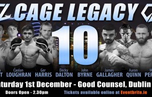 Cage Legacy 10 - Fight Card