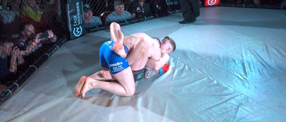 Watch: Adam Darby vs Michael Quinn - Cage Warriors Academy Ireland