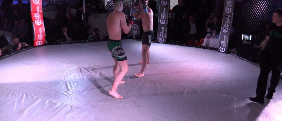 Watch: Adam Griffen vs James Slavin - Cage Warriors Academy Ireland - F