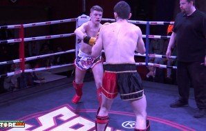 Watch: Domnic Leahy vs Grozav Gheorghe - Cobra Muay Thai Event 7
