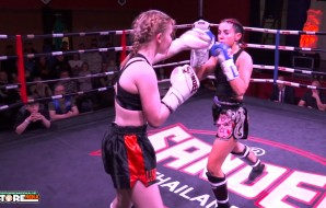 Watch: Laura Linehan vs Amy Byrne - Cobra Muay Thai Event 7