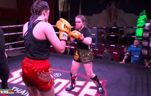 Watch: Sarah Lynch vs Caroline Anderson - Cobra Muay Thai Event 7