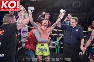 Sean Clancy becomes the WBC MuayThai International super-lightweight champion