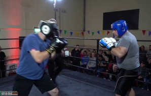 Watch: Vinny Talbot vs Angelo - Fighting Spirit: White Collar Boxing
