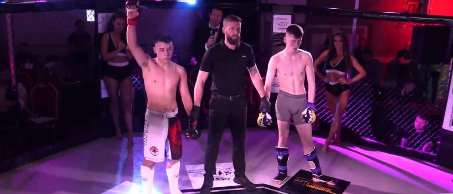 Watch: Brian Damien vs James Wallace - Cage Conflict 3