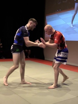 Watch: Cathal Nash vs Evan Reid - Grapple Kings 5