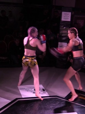 Watch: Melissa Miskell vs Caitlin Hadfield - Cage Conflict 3