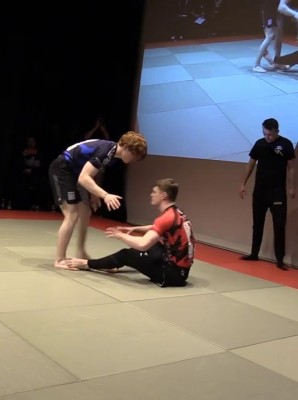 Watch: Sam Meenan vs Troy Carberry - Grapple Kings 5