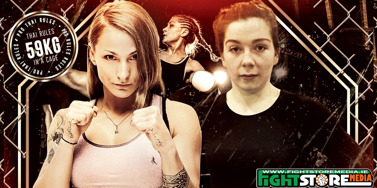 'Cage Queen' Eimear Codd ready for the challenge of Ula Mydlowska