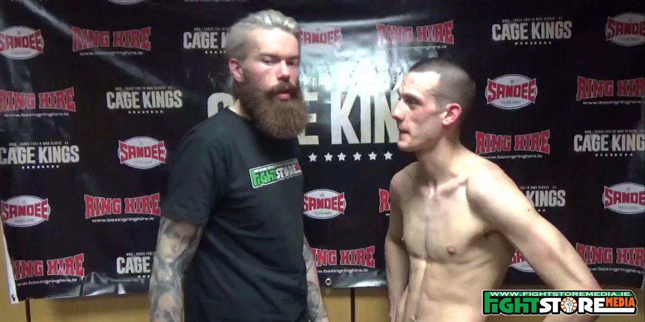 Craig Coakley post fight interview at Cage Kings Dublin