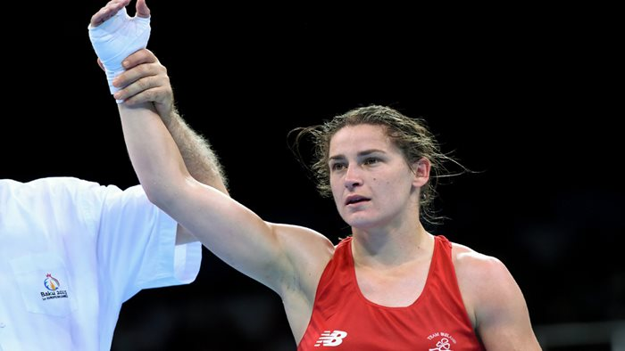 Katie Taylor to defend Olympic Gold Medal in Rio after win in Kazakhstan