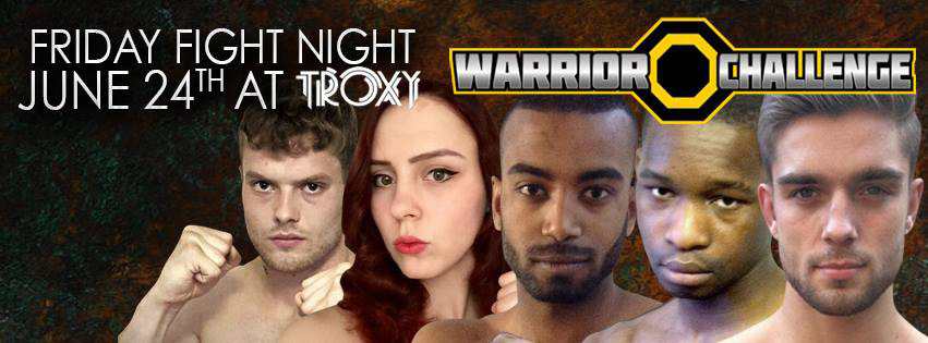 WCMMA Live from the London Troxy - Fight Card + Live Stream