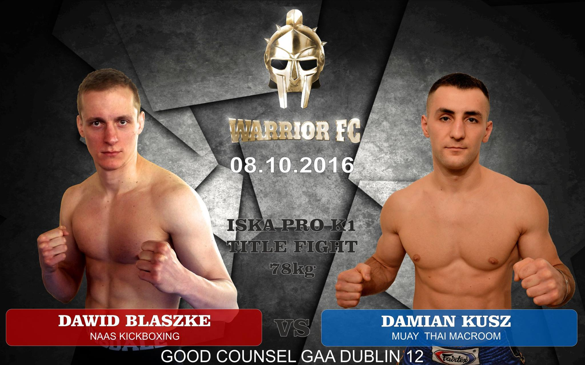 Damian Kusz: The ISKA belt will be a prize for all my hard work